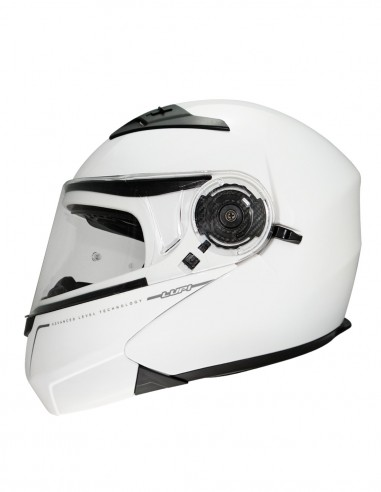 Flip-Up helmet LUP1 Solid white...
