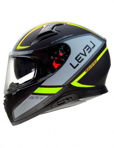 LEVEL helmet LFT1 TOURING D.Visor...