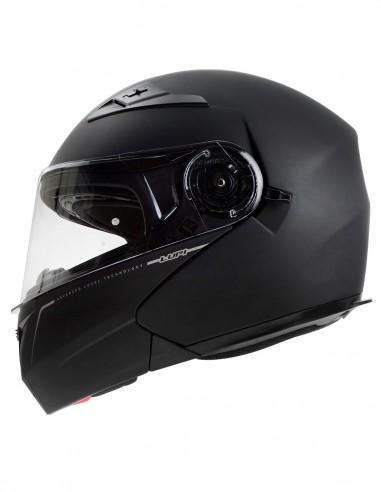 Flip-Up helmet LUP1 Solid matt black...