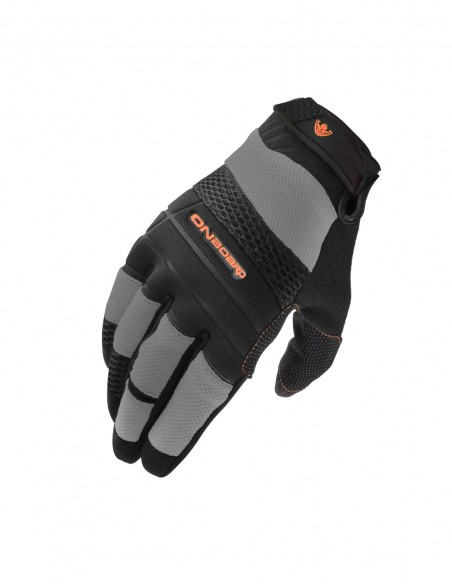 Guantes moto Verano ON AIR negro/Gris