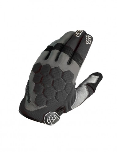 Guantes cross MX3 Negro/Gris