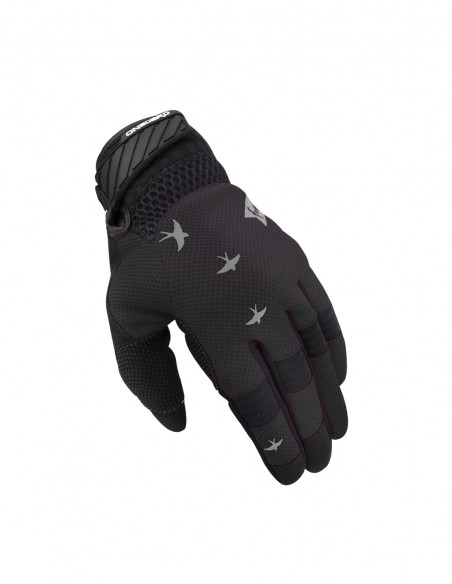 Guantes moto mujer FREE  Negro/Gris On Board Moto