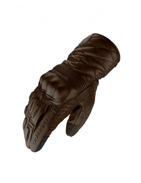 Guantes moto Onboard 60s Classic Marrón, Cafe Racer