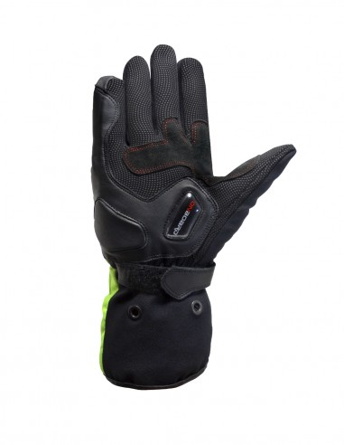 S-RAIN road gloves Black, Hi-Viz