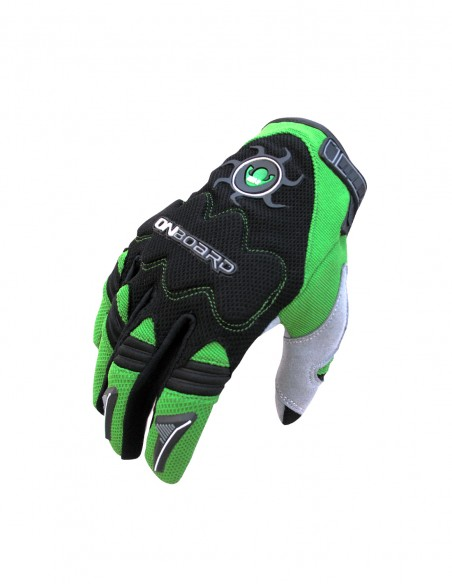 Guantes cross MX2 Negro/Verde