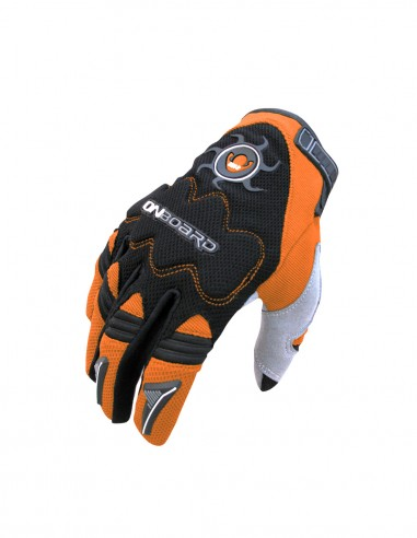 Guantes cross MX2 Negro/Naranja