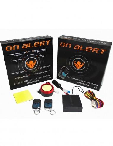 Alarma moto On Alert 1 Via (2 mandos)