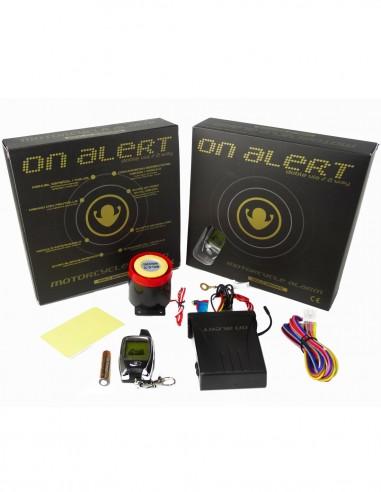 Alarma moto On Alert 2 Vias (1 mando con pantalla)