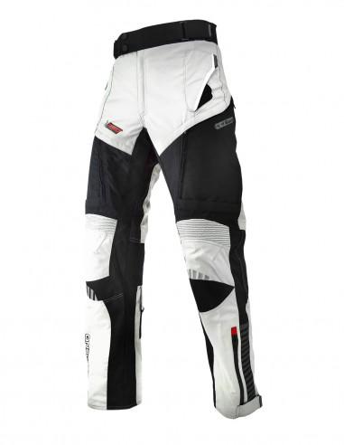 Pantalon moto STONE 4S Gris claro/Negro/Gris oscuro