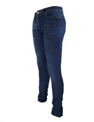 Pantalon mujer tejano kevlar CHIC - 01 azul