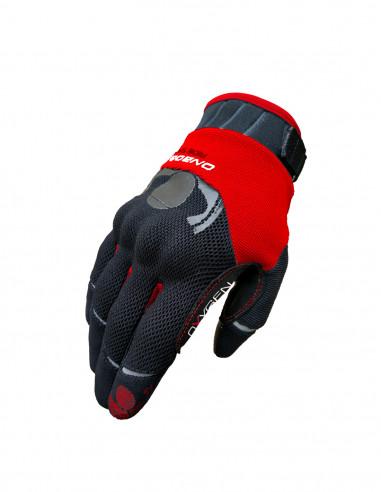 guantes moto verano Oxygen Rojo