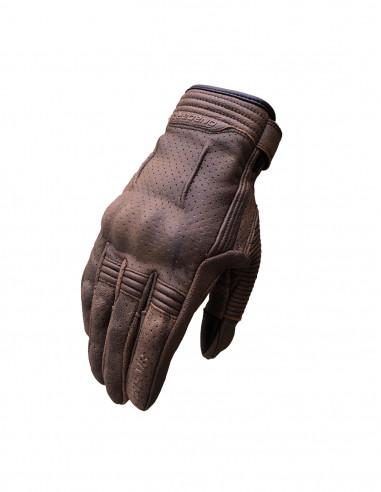Vint-Air men brown summer gloves