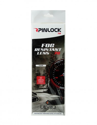 Lens PINLOCK70 Clear LEVEL Helmets