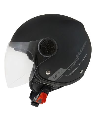 LEVEL helmets Ljc Vento D.Visor Matt Black